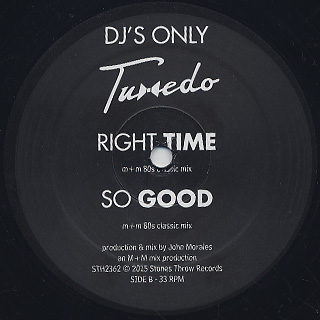 Tuxedo / The M+M Mixes label