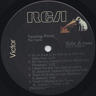 Tymes / Turning Point label