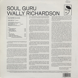 Wally Richardson / Soul Guru back