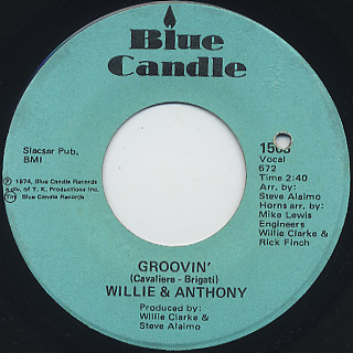 Willie & Anthony / Groovin'