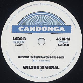 Wilson Simonal / Brasil Eu Fico label