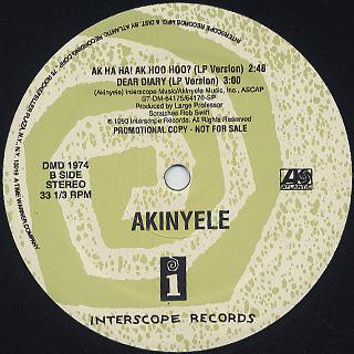 Akinyele / Ak Ha Ha! Ak Hoo Hoo? label