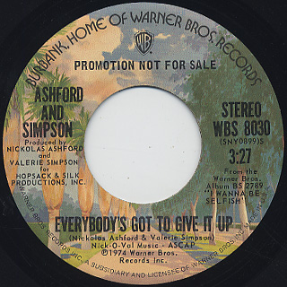 Ashford And Simpson / Everybody's Got To Give It Up
