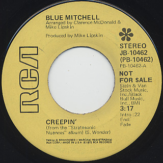 Blue Mitchell / Creepin'