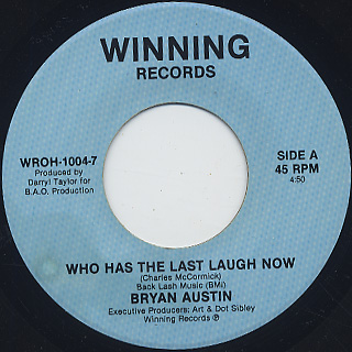 Bryan Austin / Who Has The Last Laugh Now