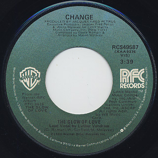 Change / The Glow Of Love (7