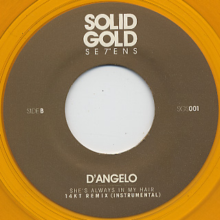 D'Angelo / She's Always In My Hair (14KT Remix) back