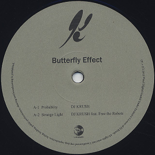 DJ Krush / Butterfly Effect (2LP) label