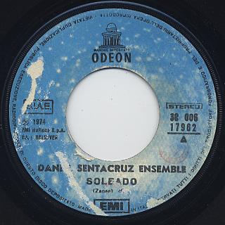 Daniel Sentacruz Ensemble / Soleado c/w Per Elisa