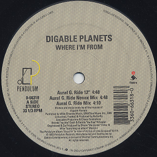 Digable Planets / Where I'm From label