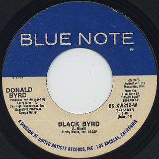 Donald Byrd / Black Byrd c/w Slop Jar Blues