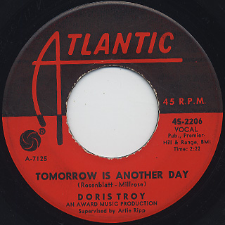Doris Troy / What'cha Gonna Do About It back