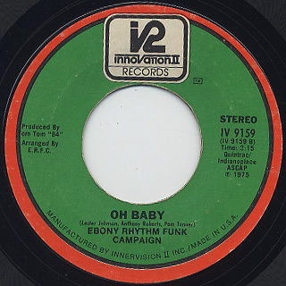 Ebony Rhythm Funk Campaign / How's Your Wife back