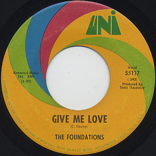 Foundations / In The Bad, Bad Old Days (Before You Loved Me) back