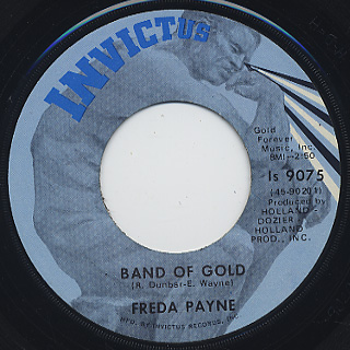 Freda Payne The Easiest Way To Fall 7inch Invictus