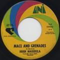 Hugh Masekela / Mace And Grenades c/w Riot
