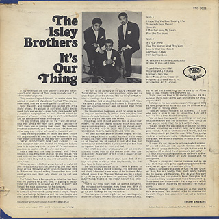 Isley Brothers / It's Your Thing back