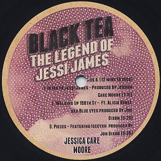 Jessica Care Moore / Black Tea label
