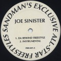 Joe Sinister / Da Rewind Freestyle