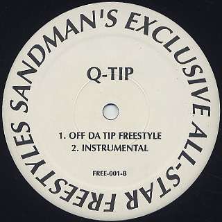 Joe Sinister / Da Rewind Freestyle back