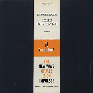 John Coltrane / Impressions back