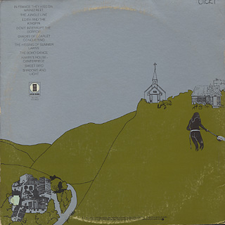 Joni Mitchell / The Hissing Of Summer Lawns back