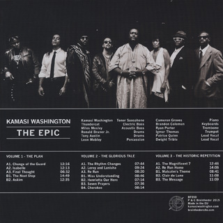 Kamasi Washington / The Epic (3LP) back