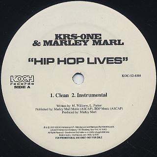 Krs-One & Marley Marl / Hip Hop Lives