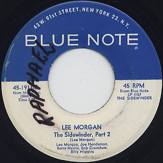 Lee Morgan / Sidewinder (7