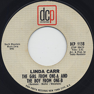 Linda Carr / Baby, Are You Puttin' Me On