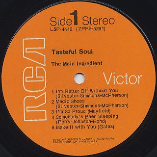 Main Ingredient / Tasteful Soul label