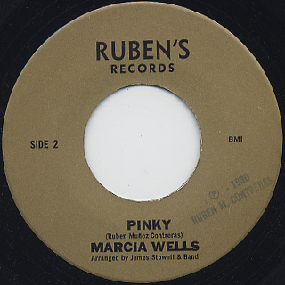 Marcia Wells / What's The Matter Baby? back