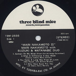 Mari Nakamoto / III label