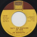 Marvelettes / That's How Heartaches Are Made c/w Rainy Mourning-1