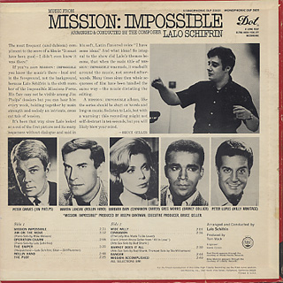 O.S.T.(Lalo Schifrin) / MIssion Impossible back