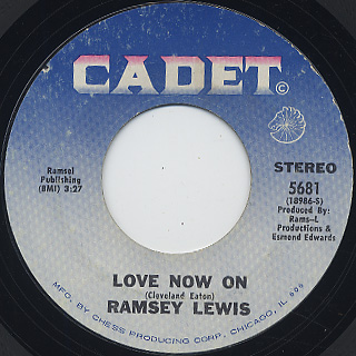 Ramsey Lewis / Candida c/w Love Now On back