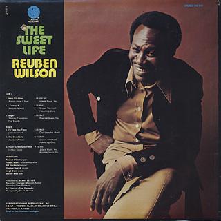 Reuben Wilson / The Sweet Life back