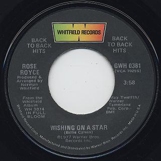 Rose Royce / Wishing On A Star