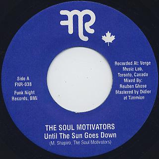 Soul Motivators / Until The Sun Goes Down
