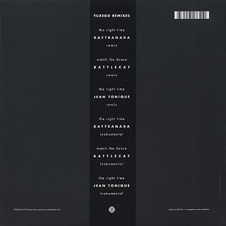 Tuxedo / Remixes back