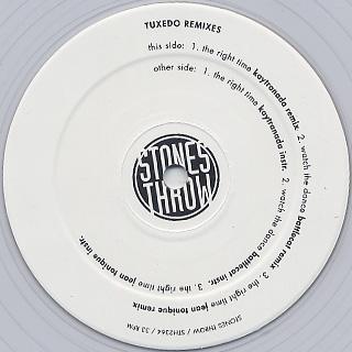 Tuxedo / Remixes label