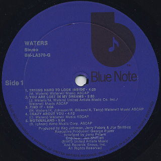 Waters / S.T. label