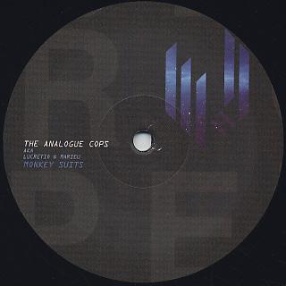 Analogue Cops / Monkey Suits label