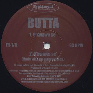 Butta / O'kwawa Se' c/w Jimmy's Tune