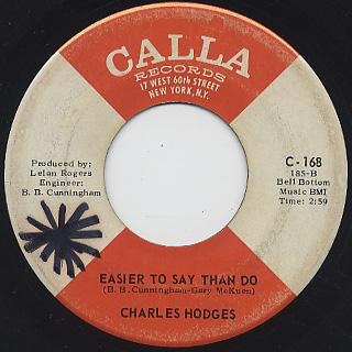 Charles Hodges / Slip Around back
