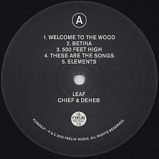 Chief & Deheb / Leaf label