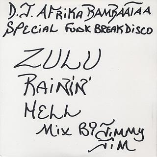 D.J. Afrika Bambaataa / Zulu Rainin' Hell