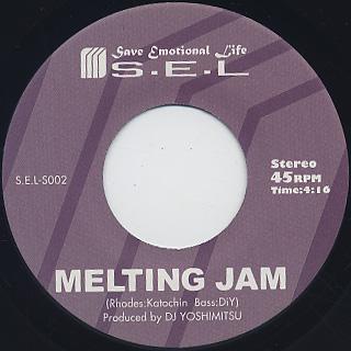 DJ Yoshimitsu / Talk Pad c/w Melting Jam back