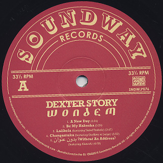 Dexter Story / Wondem label