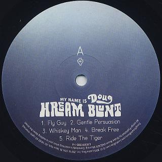 Doug Hream Blunt / My Name Is label